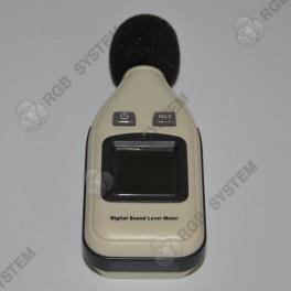 Digitální hlukoměr s podsvíceným LCD displejem