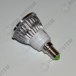 Bodová LED žárovka E14 230 V 12 W warm white (2700 - 3200 K)
