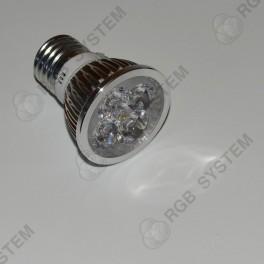 Bodová LED žárovka E27 230 V 12 W pure white (6000 - 6500 K)