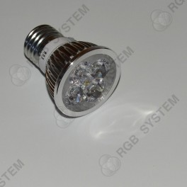 Bodová LED žárovka E27 230 V 12 W warm white (2700 - 3200 K)