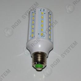 LED žárovka E27 230 V 15 W 60 LED pure white (6000K - 6500 K)