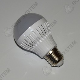 LED žárovka E27 230 V 7 W LED 5730 SMD pure white (6000 - 6500 K)