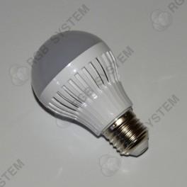 LED žárovka E27 230 V 7 W LED 5730 SMD warm white (3000 - 3500 K)