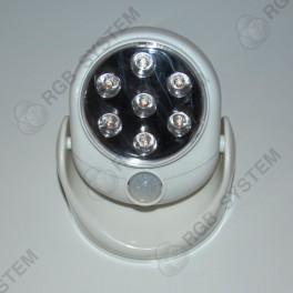 7 LED venkovní světlo s čidlem pohybu