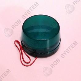 12 V LED bezpečnostní výstražné blikající světlo zelené (15 LED)
