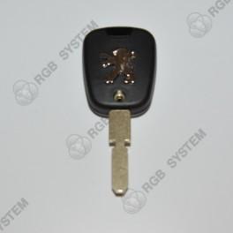 Krytka klíč PEUGEOT 2 tlačítka (s logem)